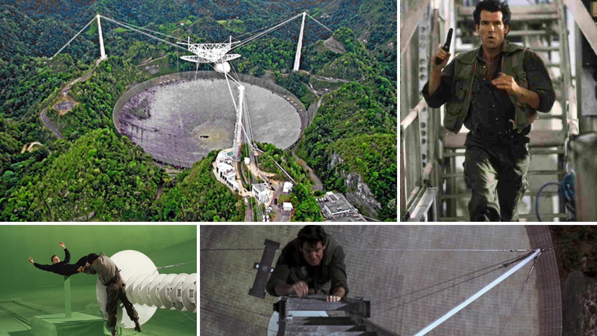 GoldenEye 007:n observatorio Cradle-kenttä