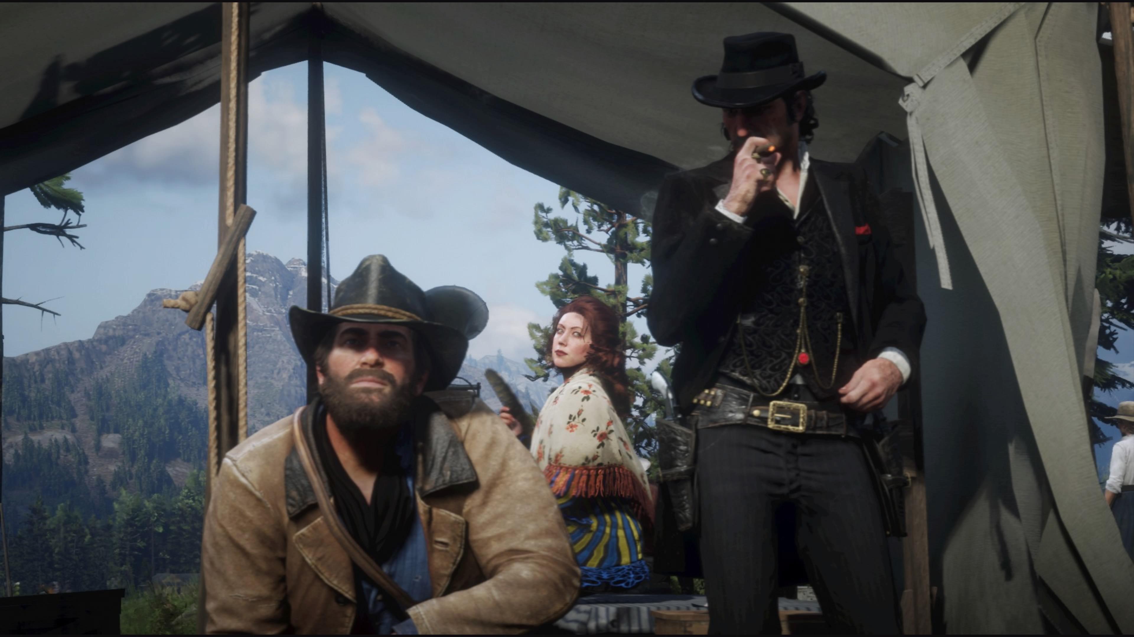Red Dead Redemption 2 alkutaipaleen valokuva
