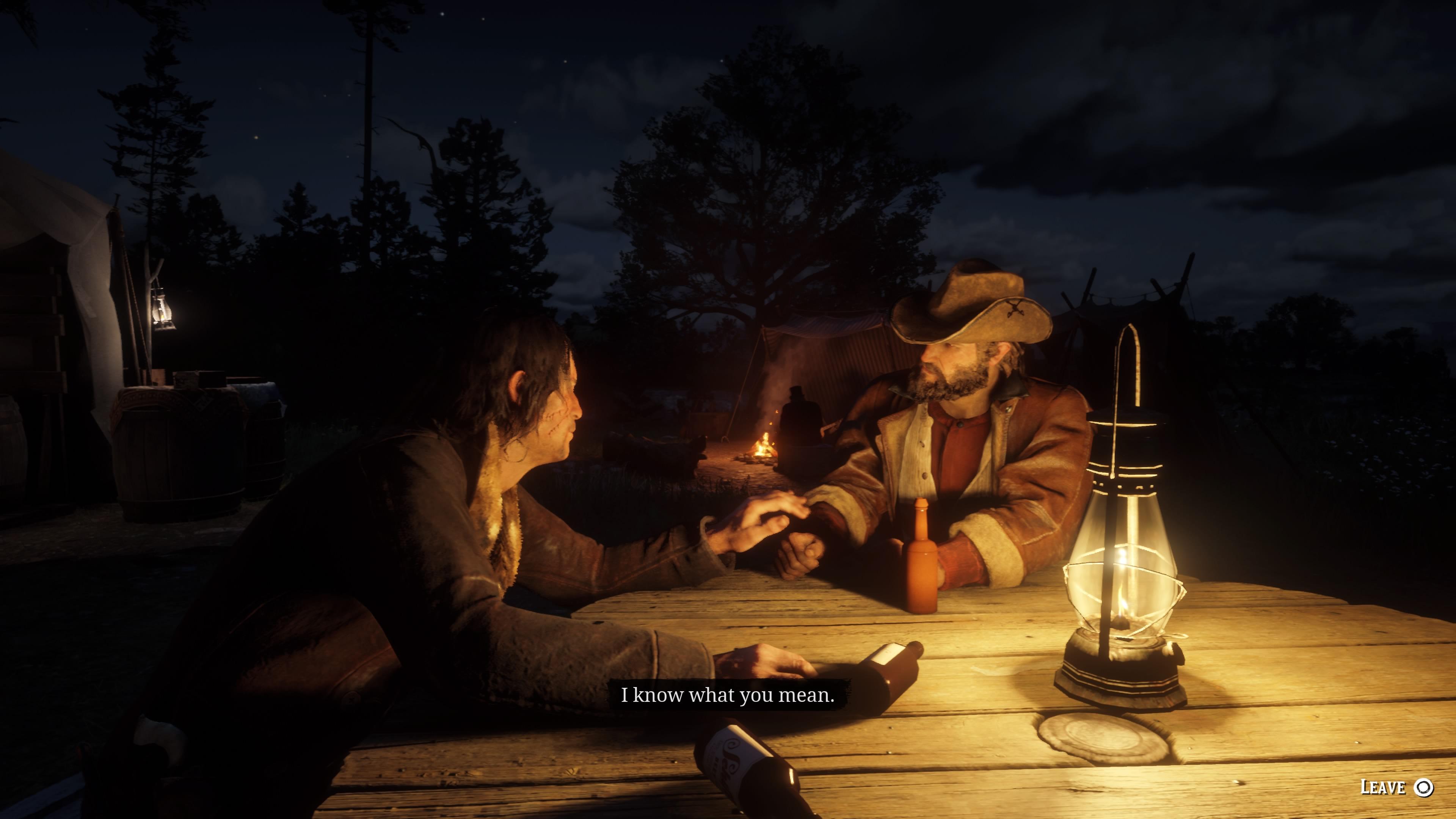 Red Dead Redemption 2 herkkä hetki