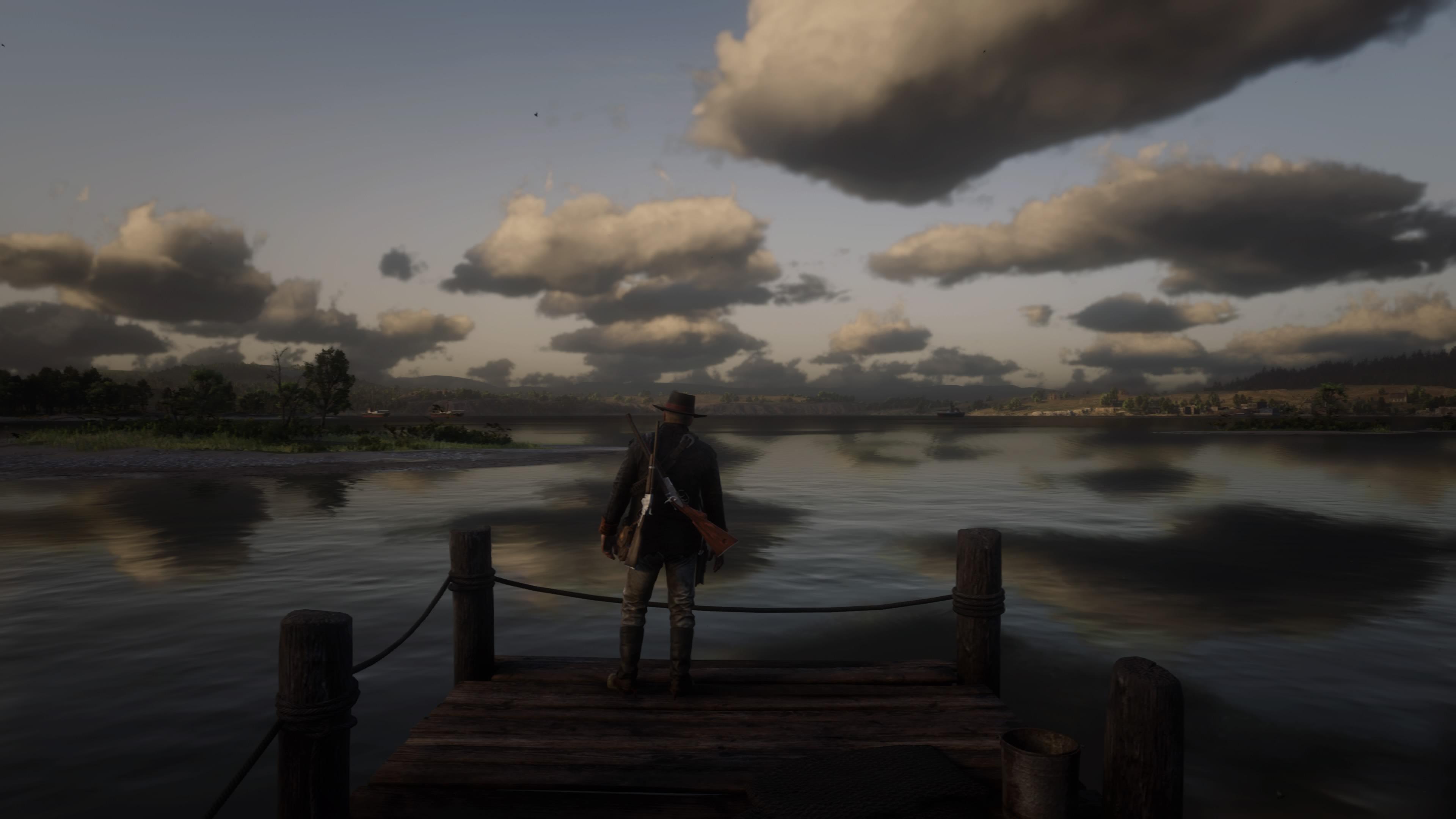 Red Dead Redemption 2 ensimmäinen maisemakuva