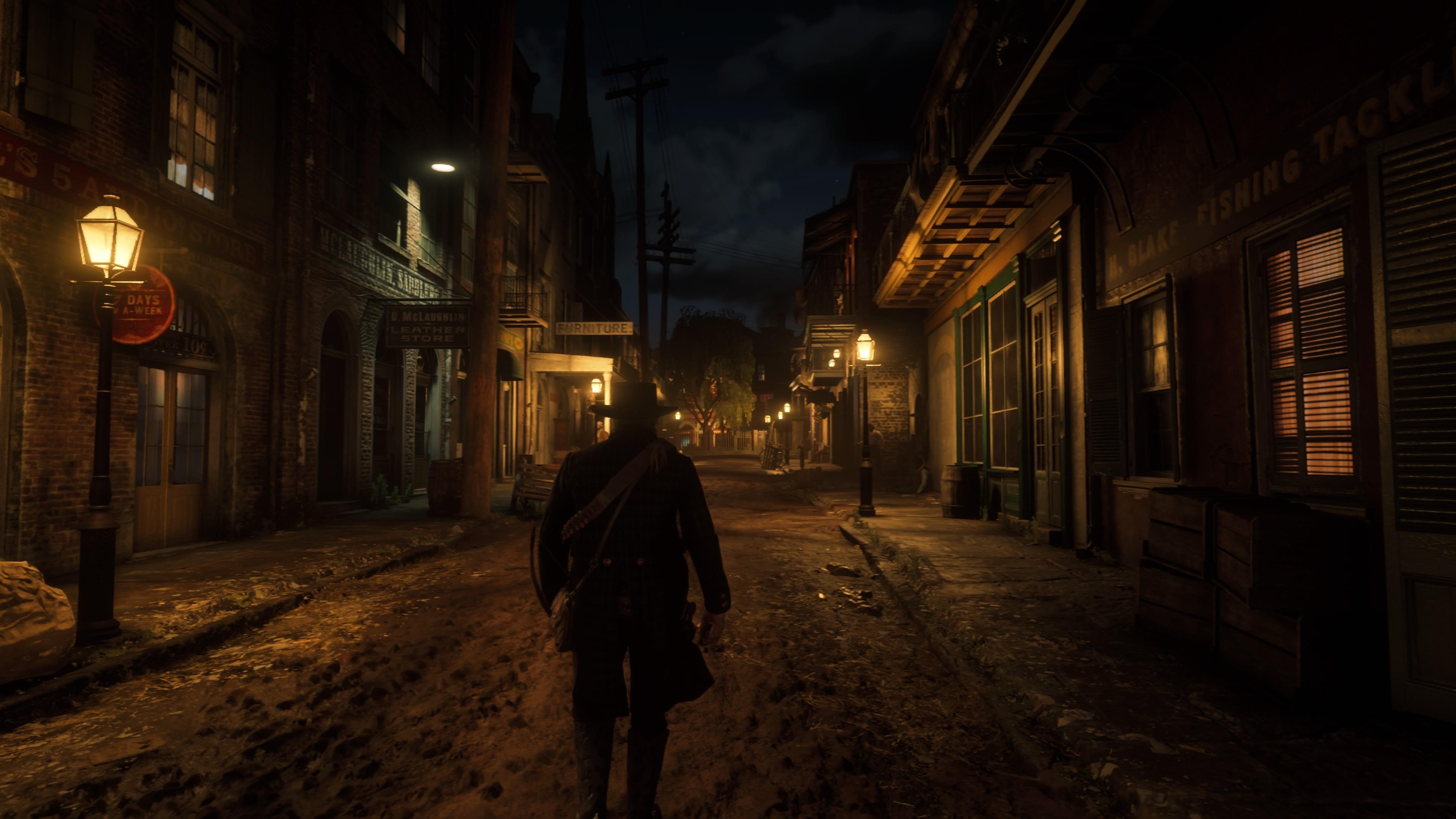 Red Dead Redemption 2 öinen katu