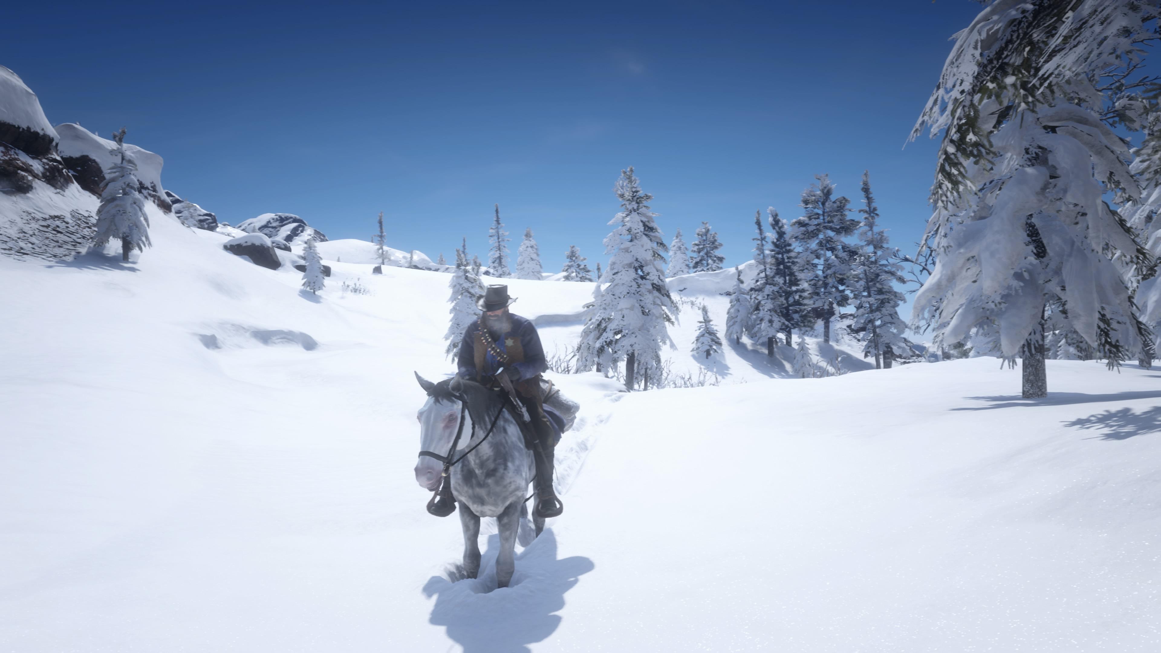 Red Dead Redemption 2 lumimaisema