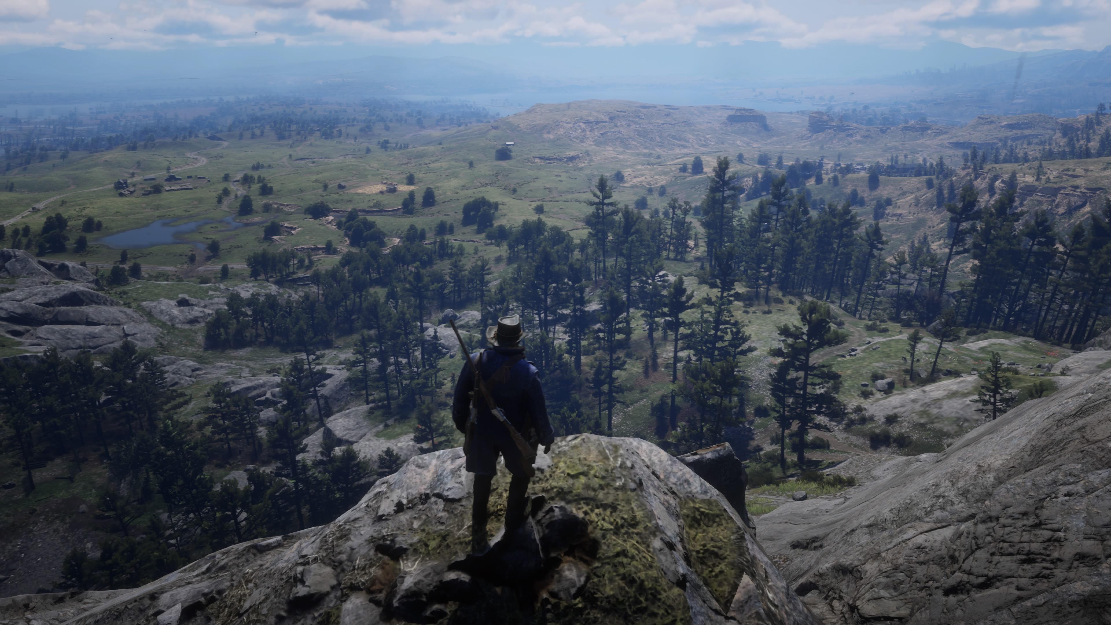 Red Dead Redemption 2 maisemaa kerrakseen