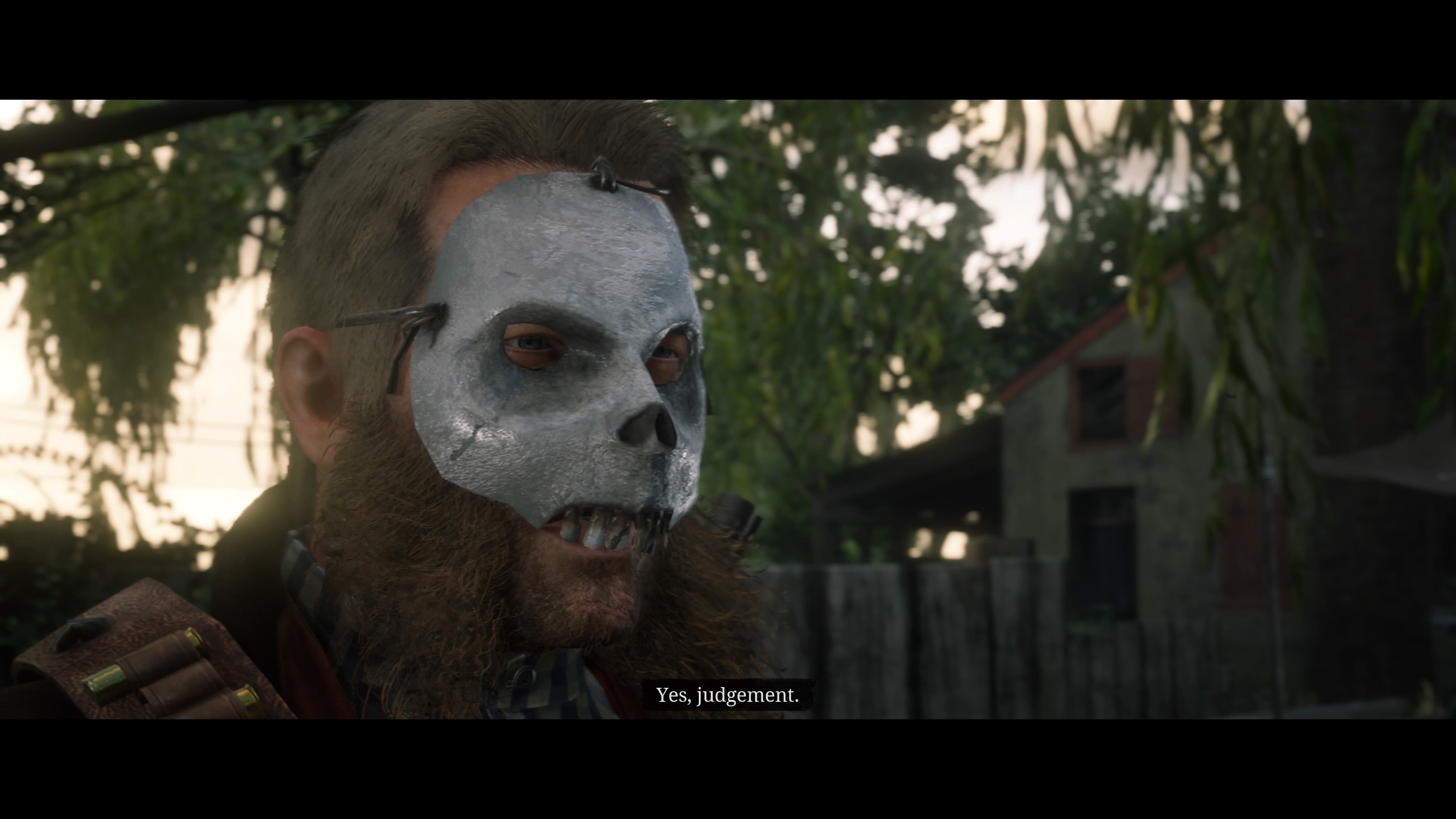 Red Dead Redemption 2 naamiomies