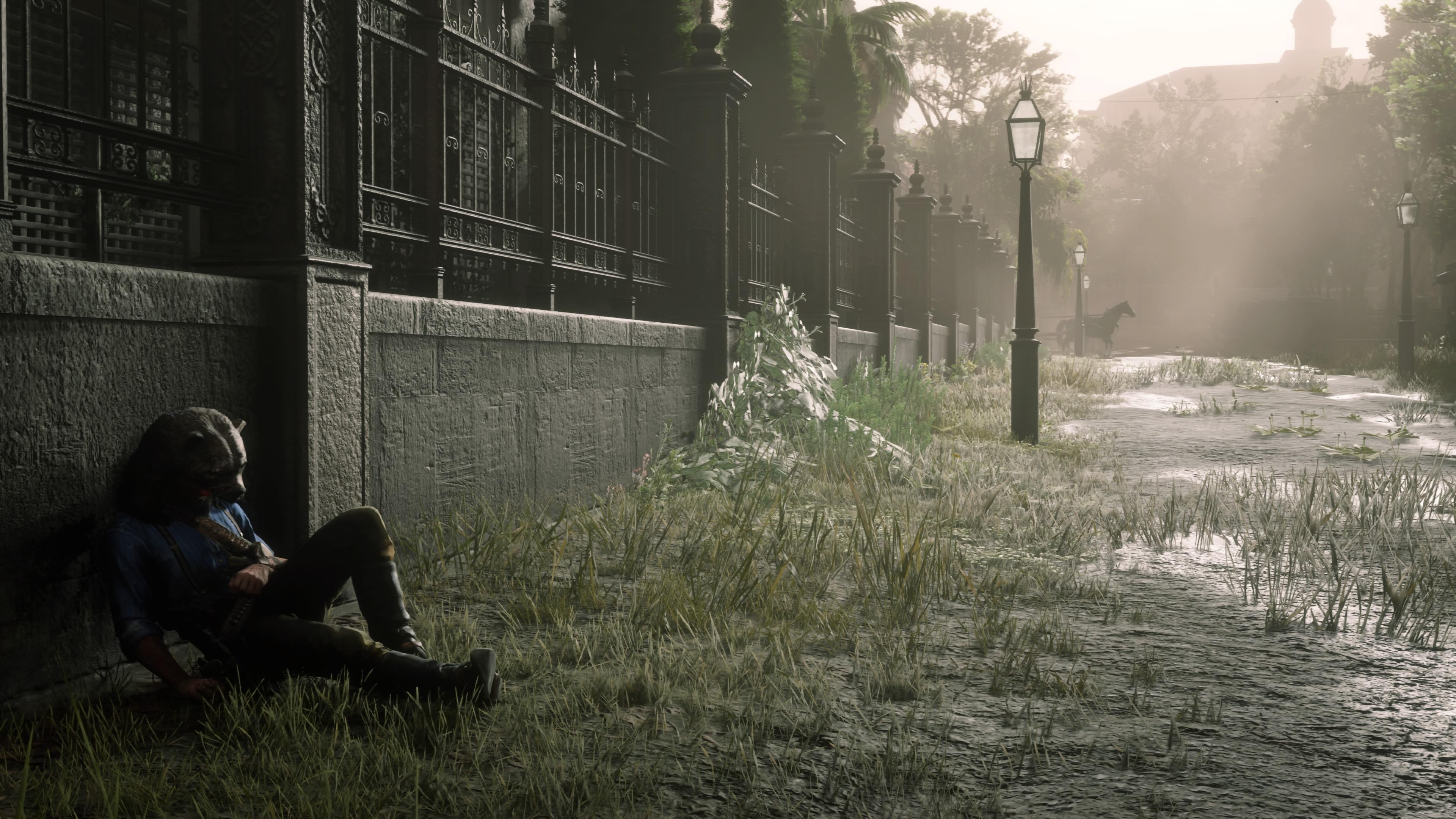Red Dead Redemption 2 karhunpoika sairastaa