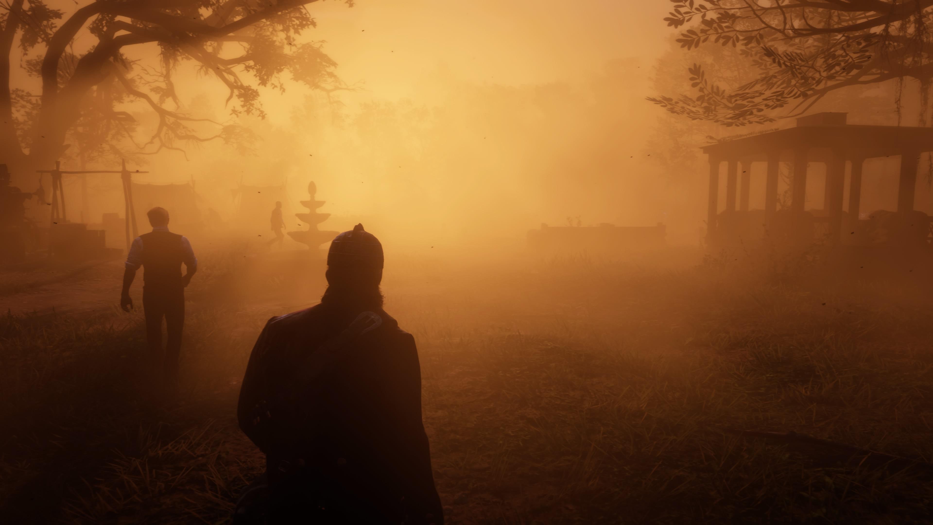 Red Dead Redemption 2 oranssi fiilis