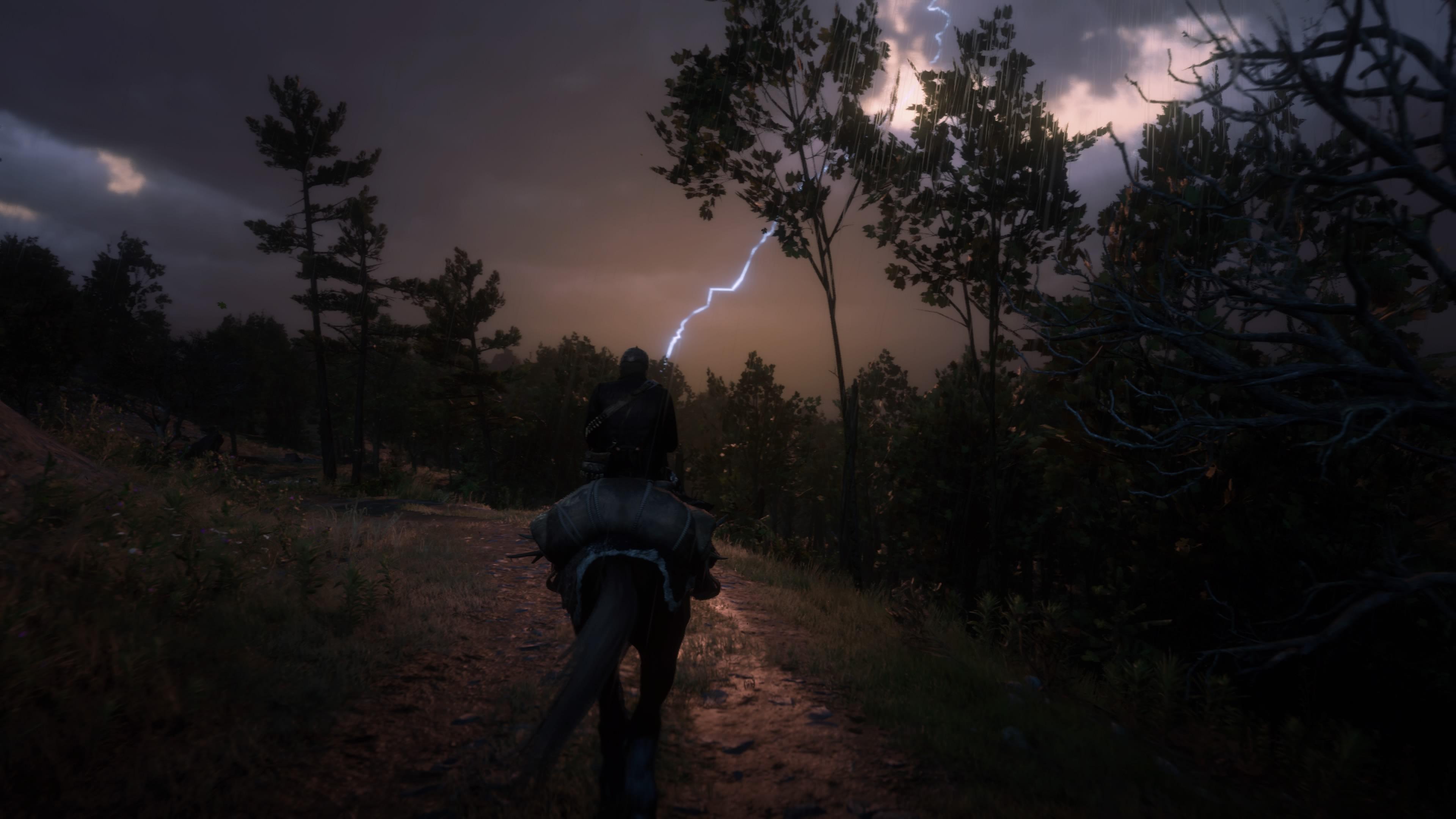 Red Dead Redemption 2 salama taivaalta