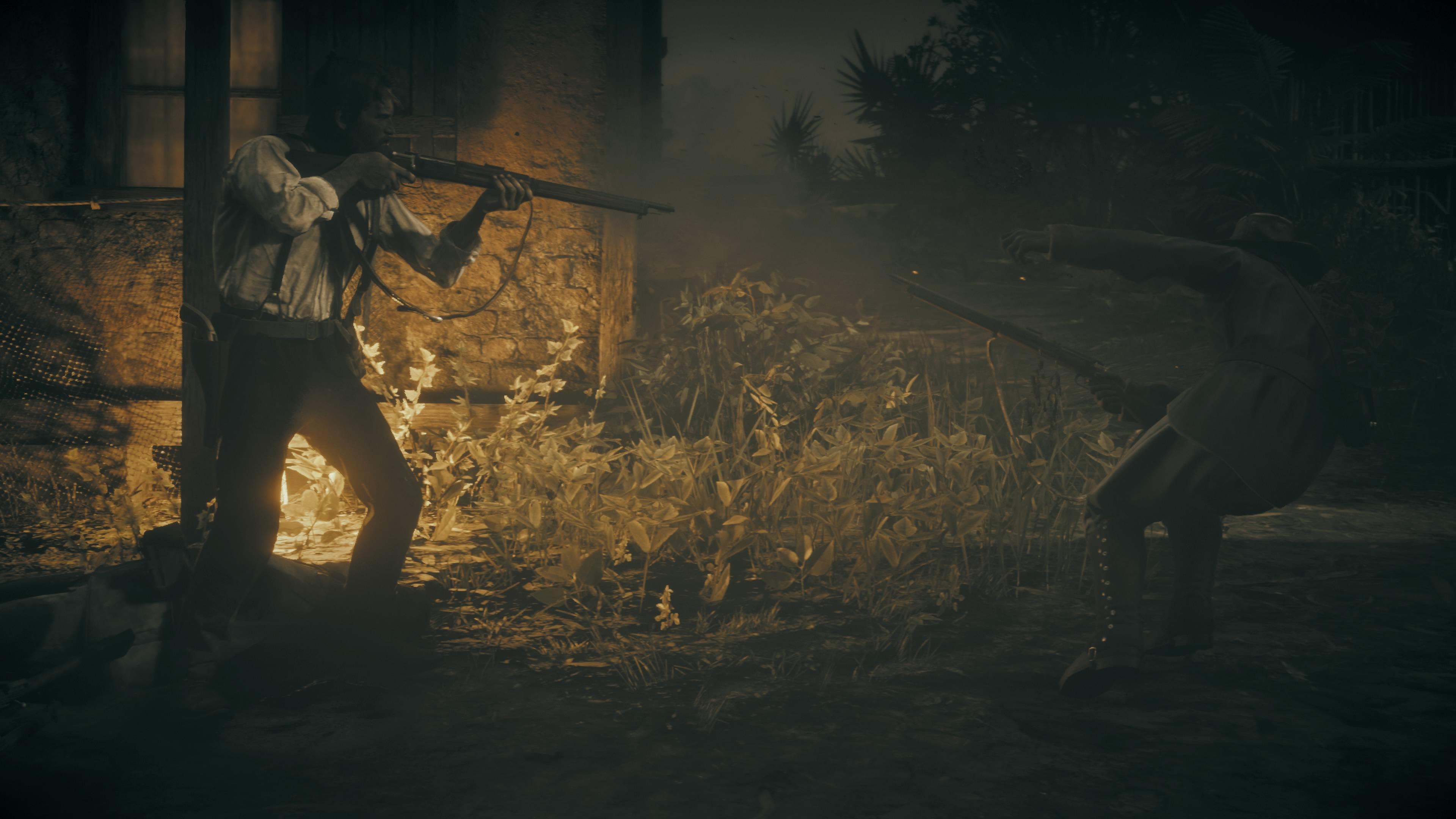Red Dead Redemption 2 ammuntaa