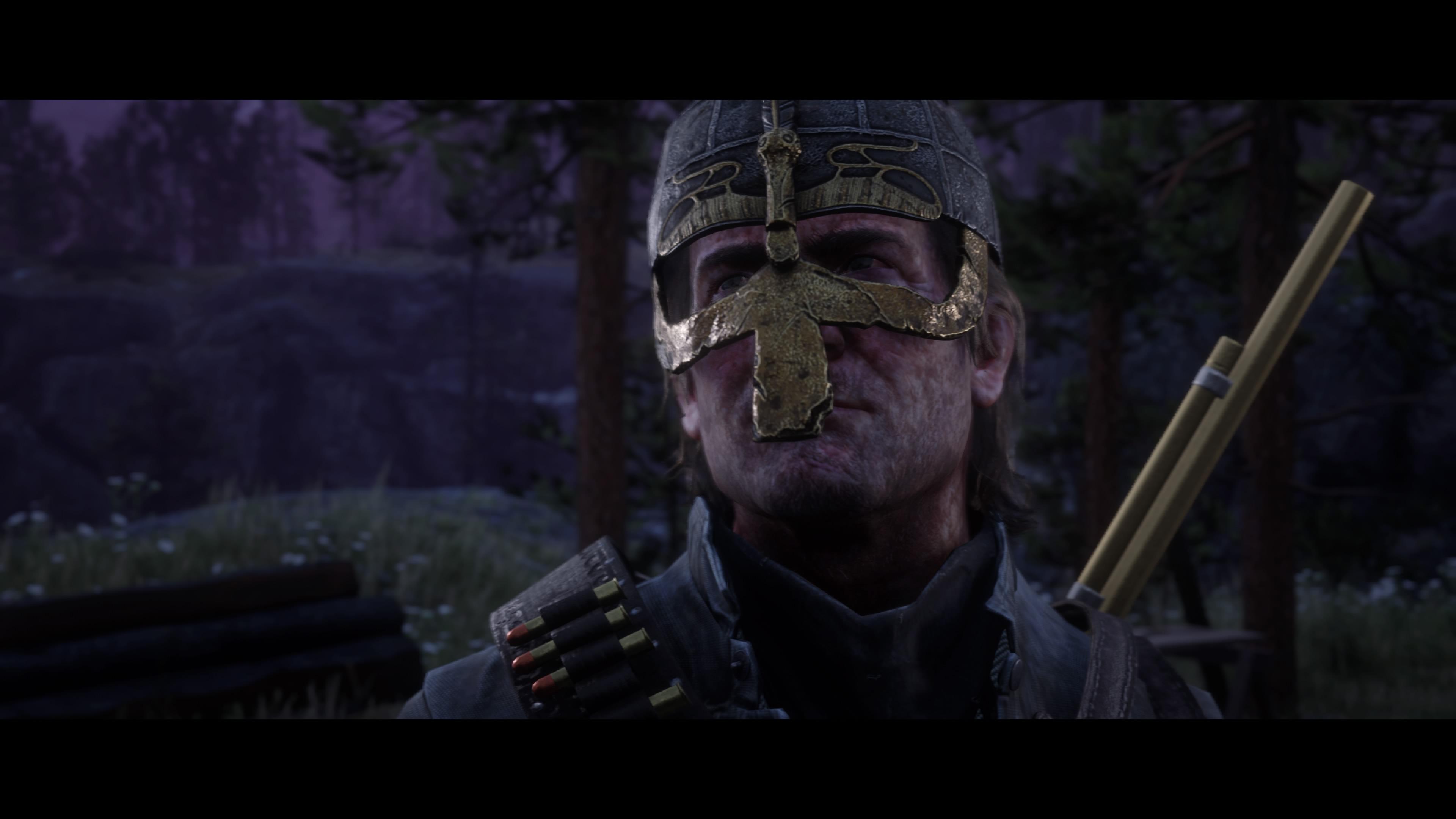 Red Dead Redemption 2 viikinkikypärä