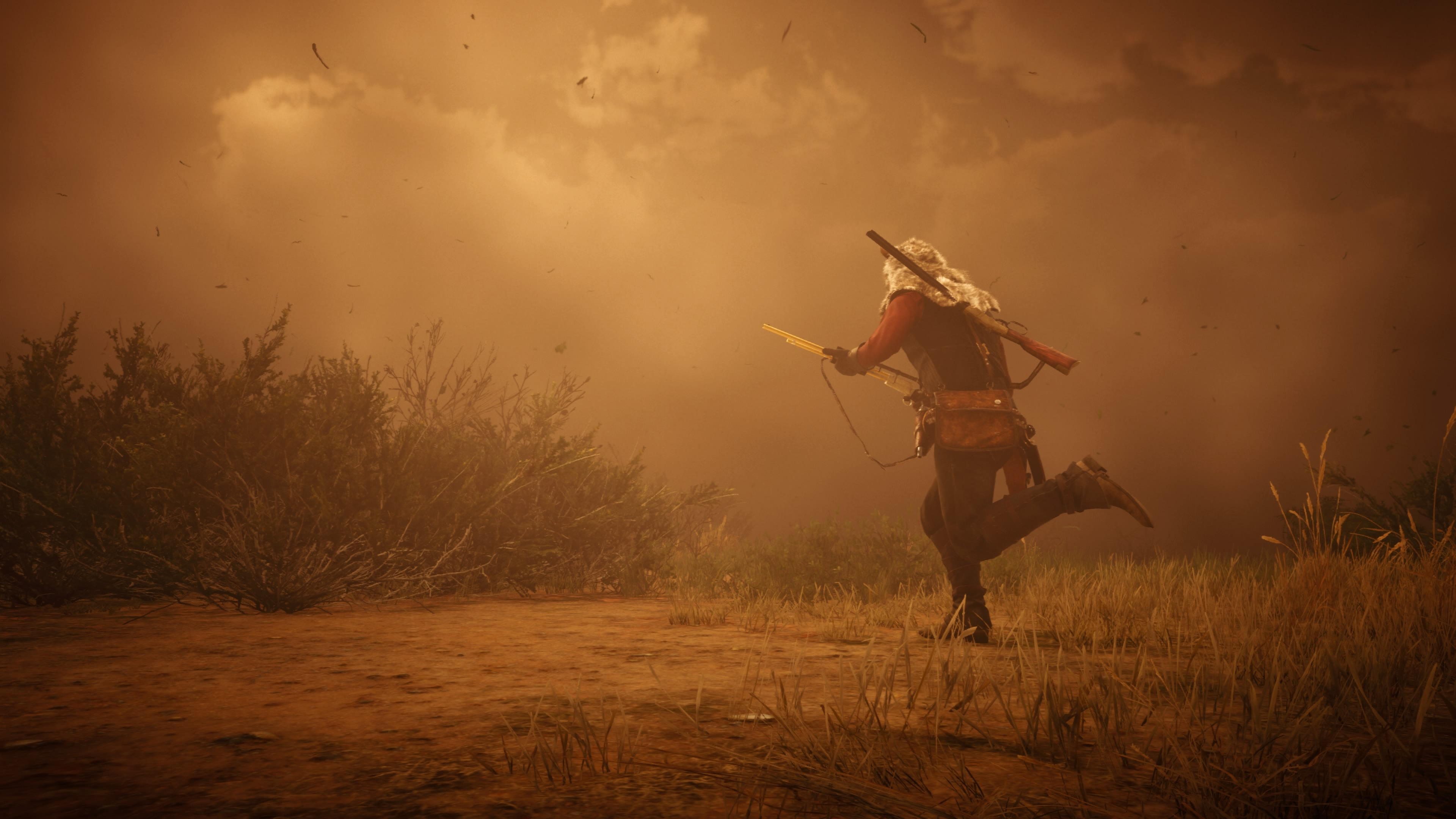 Red Dead Redemption 2 maraton hiekkamyrskyssä