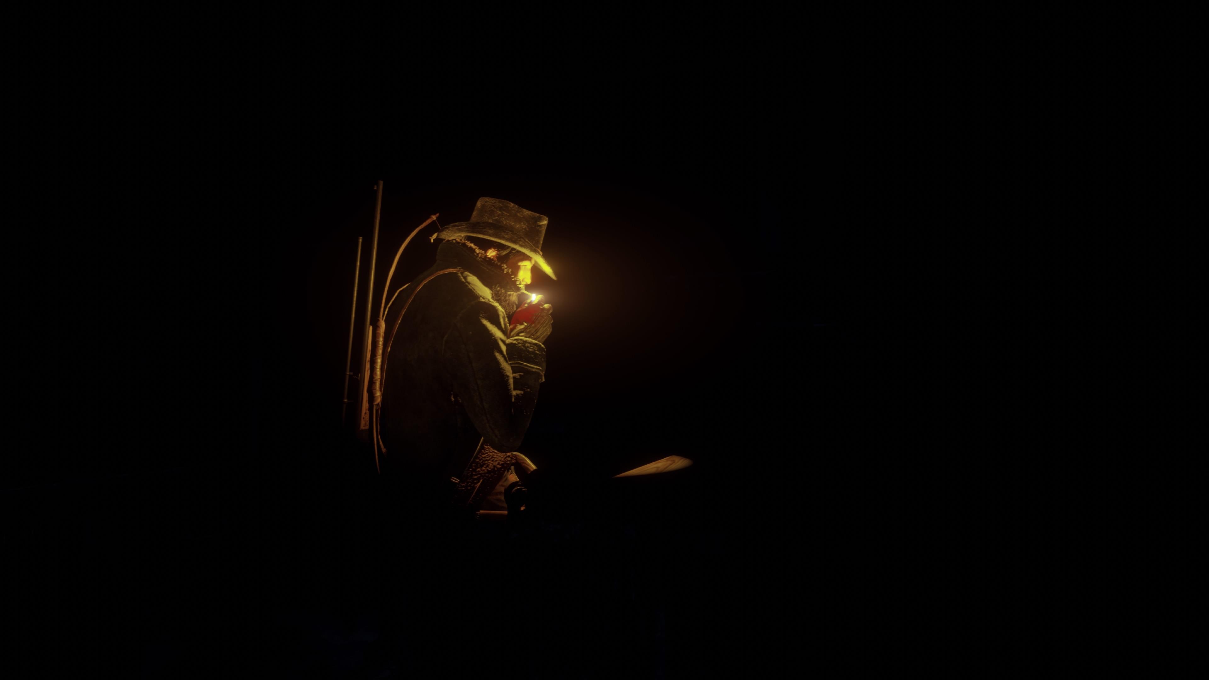 Red Dead Redemption 2 PS5 ja pieni valo pimeässä
