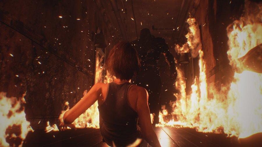 Resident Evil 3 Remake Liekkimeri ja Nemesis