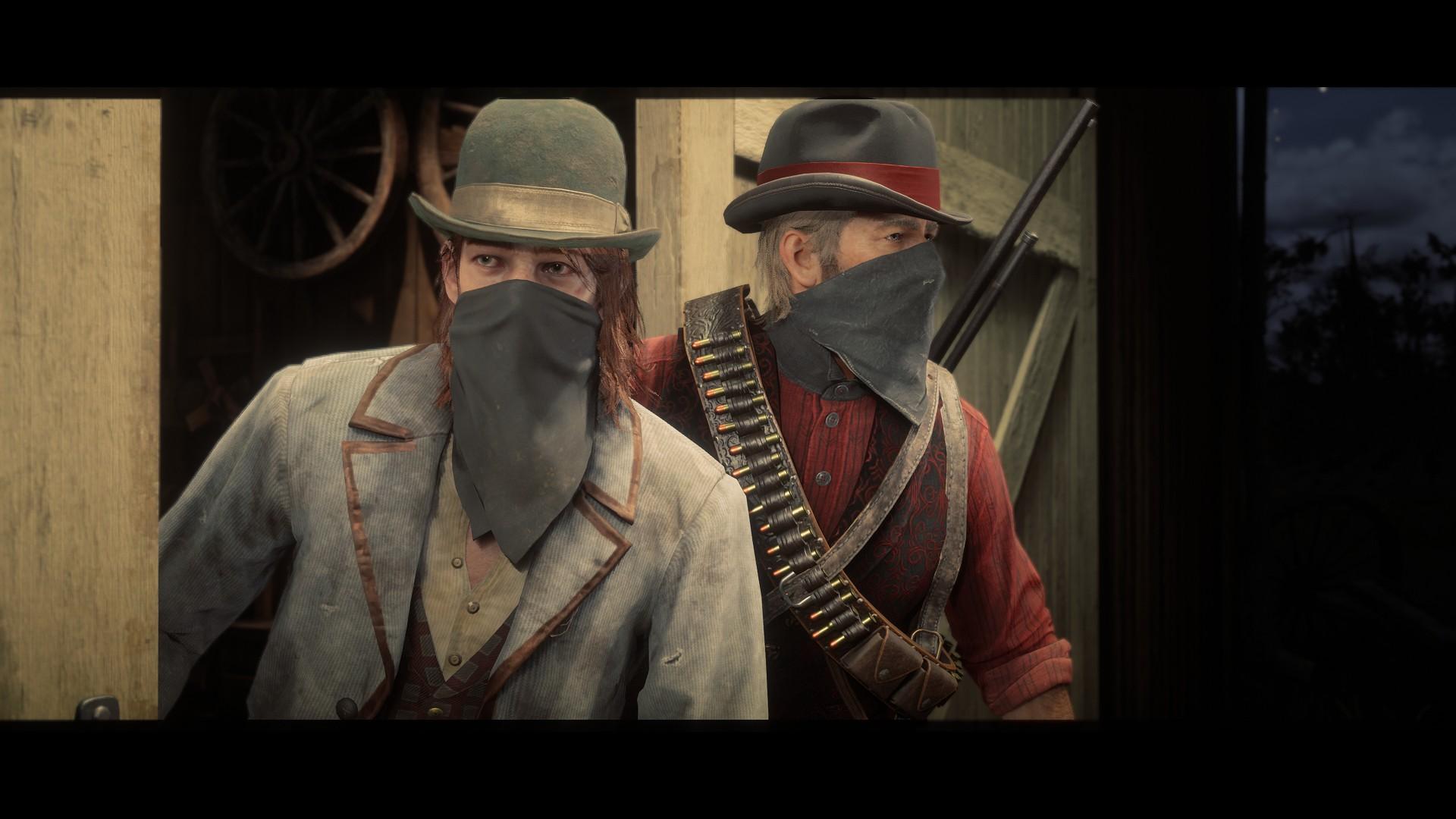 Red Dead Redemption 2: Sean ja Arthur rosvohommissa