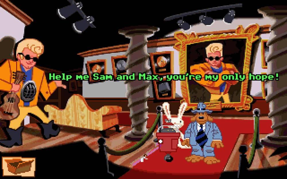 Sam & Max Hit the Road Bumpusville Star Wars