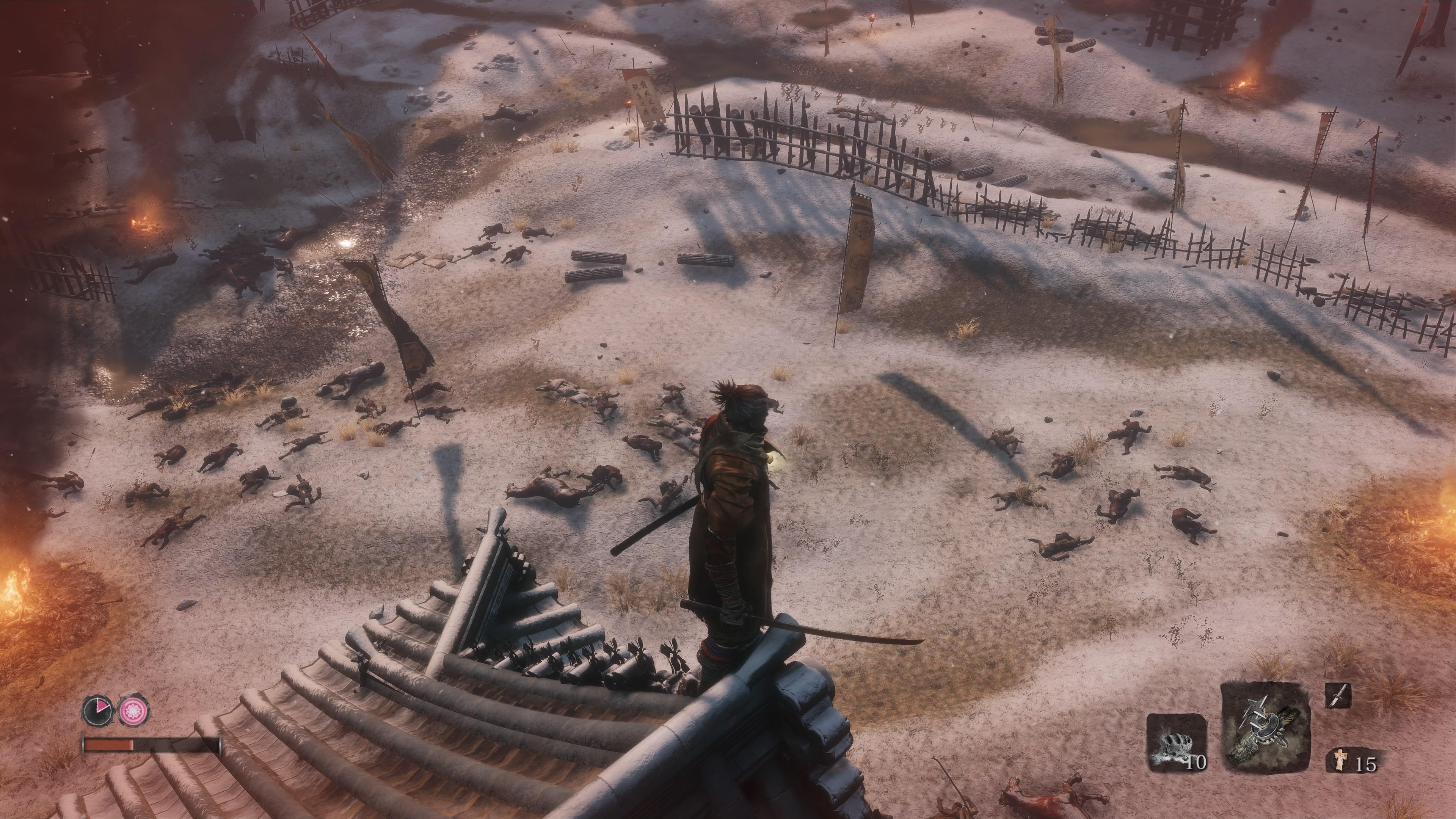 Sekiro: Shadows Die Twice taistelukenttä