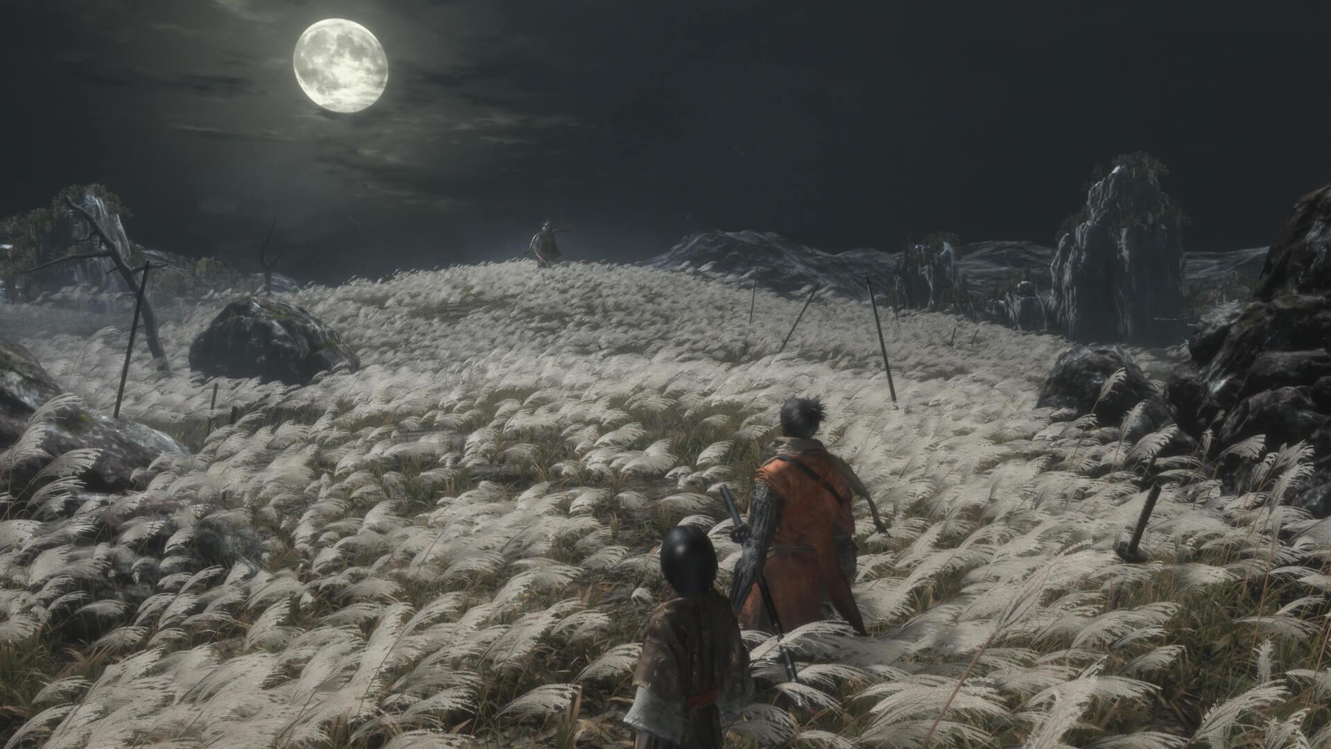 Sekiro Shadows Die Twice välivideosta kuvaa