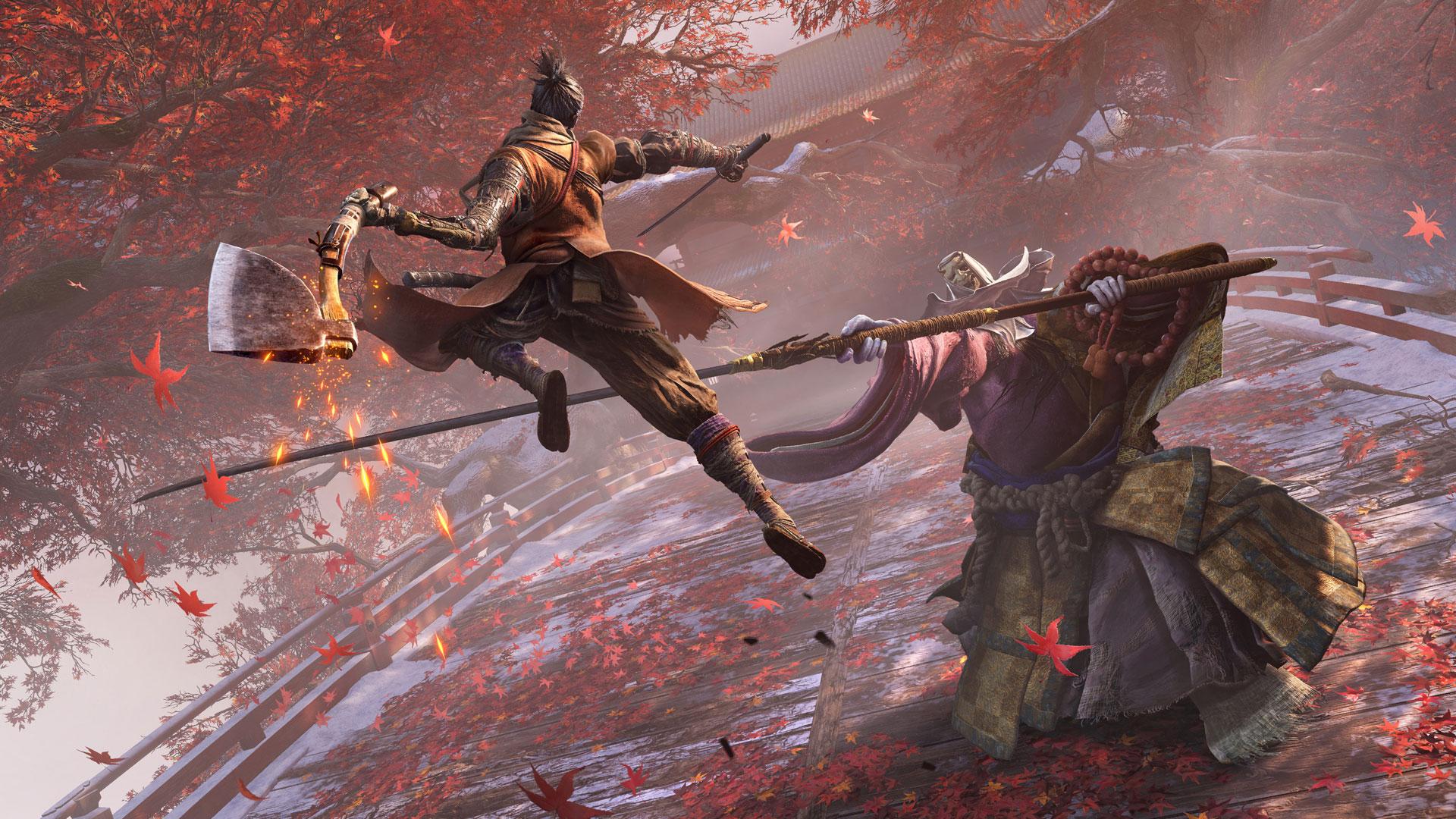 Shadows Die Twice Corrupted Monk taistelu