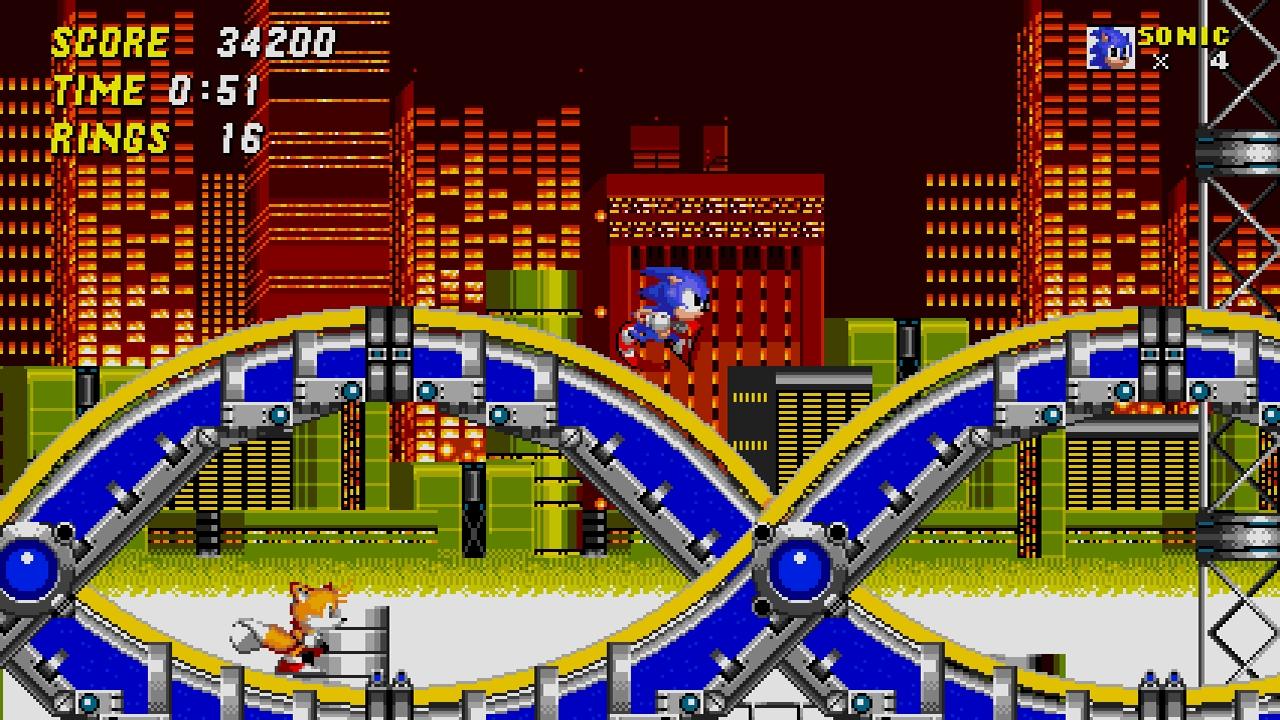 Sonic 2 screenshot