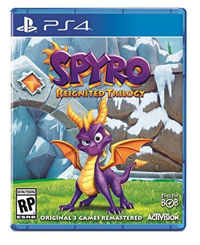 Spyro Reignited Trilogy huhu kansi