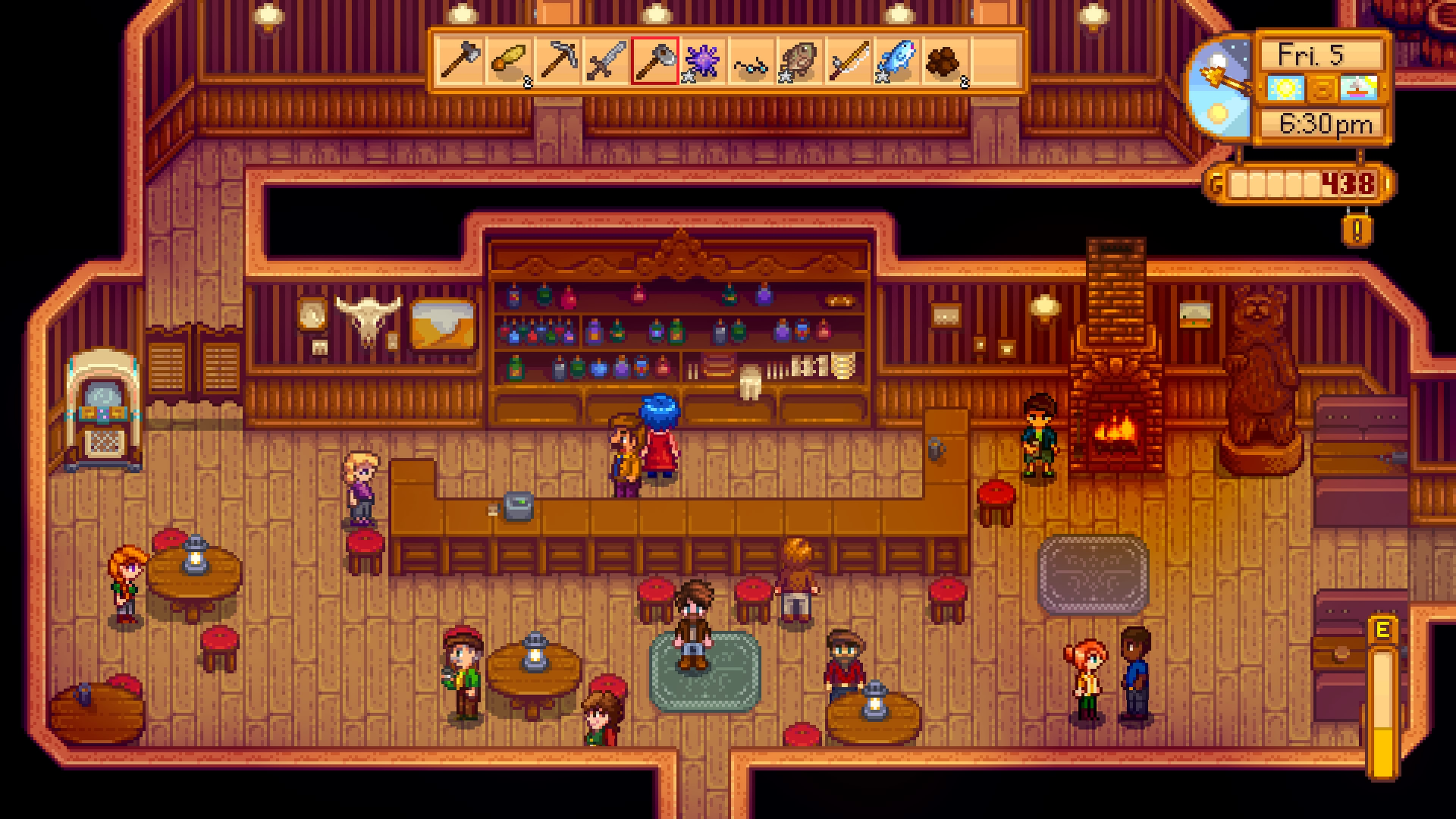 Stardew Valley in da pub PS4