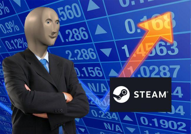 Steamin myyntikäyrä