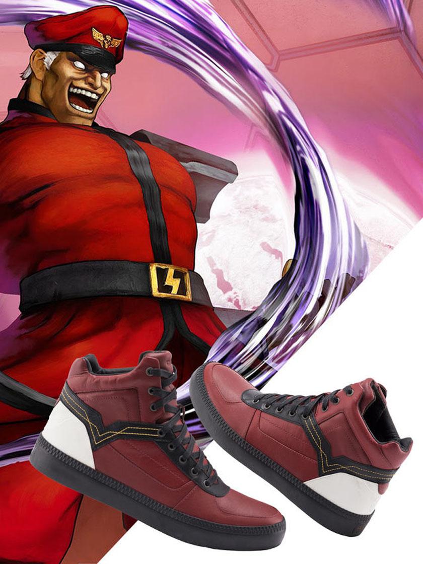 Street Fighter Diesel M. Bison kengät jalkineet