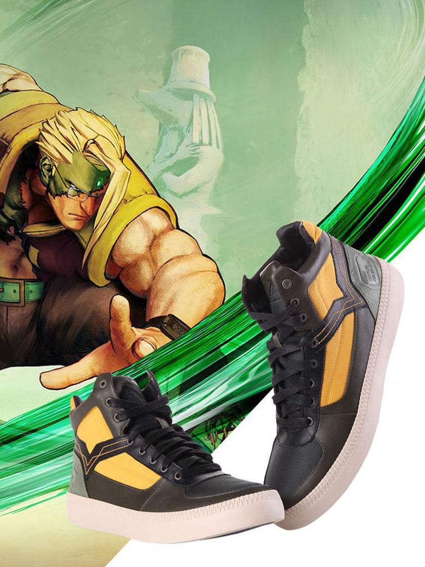 Street Fighter Diesel Nash kengät jalkineet