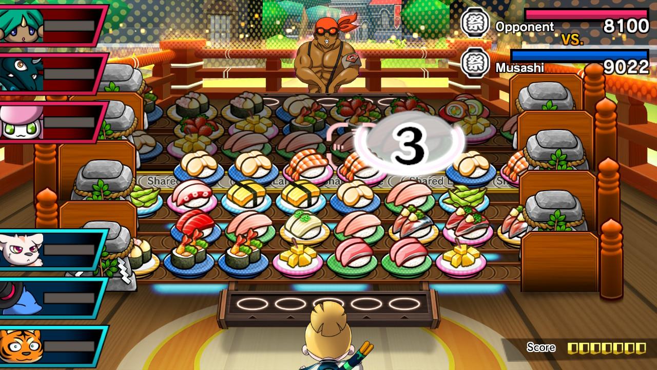 Sushi Striker The Way of Sushido taistelu