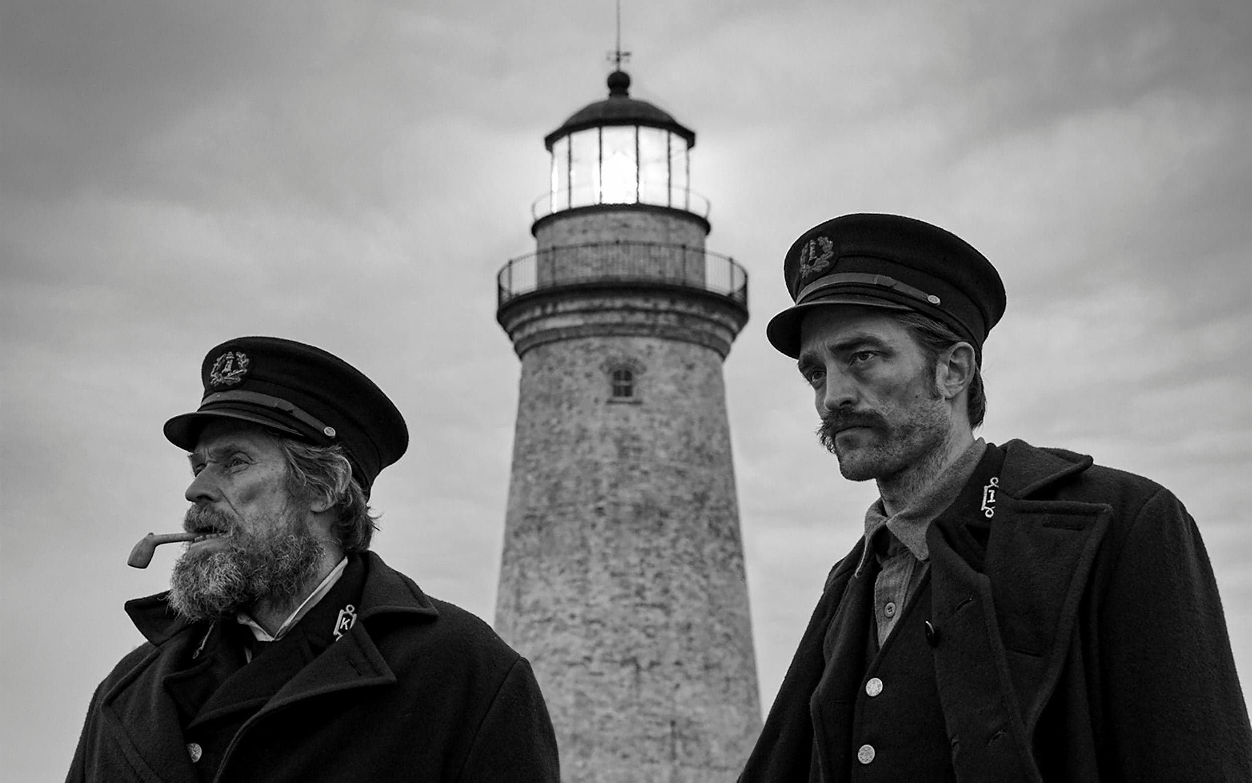 The Lighthouse elokuva Willem Dafoe Robert Pattinson