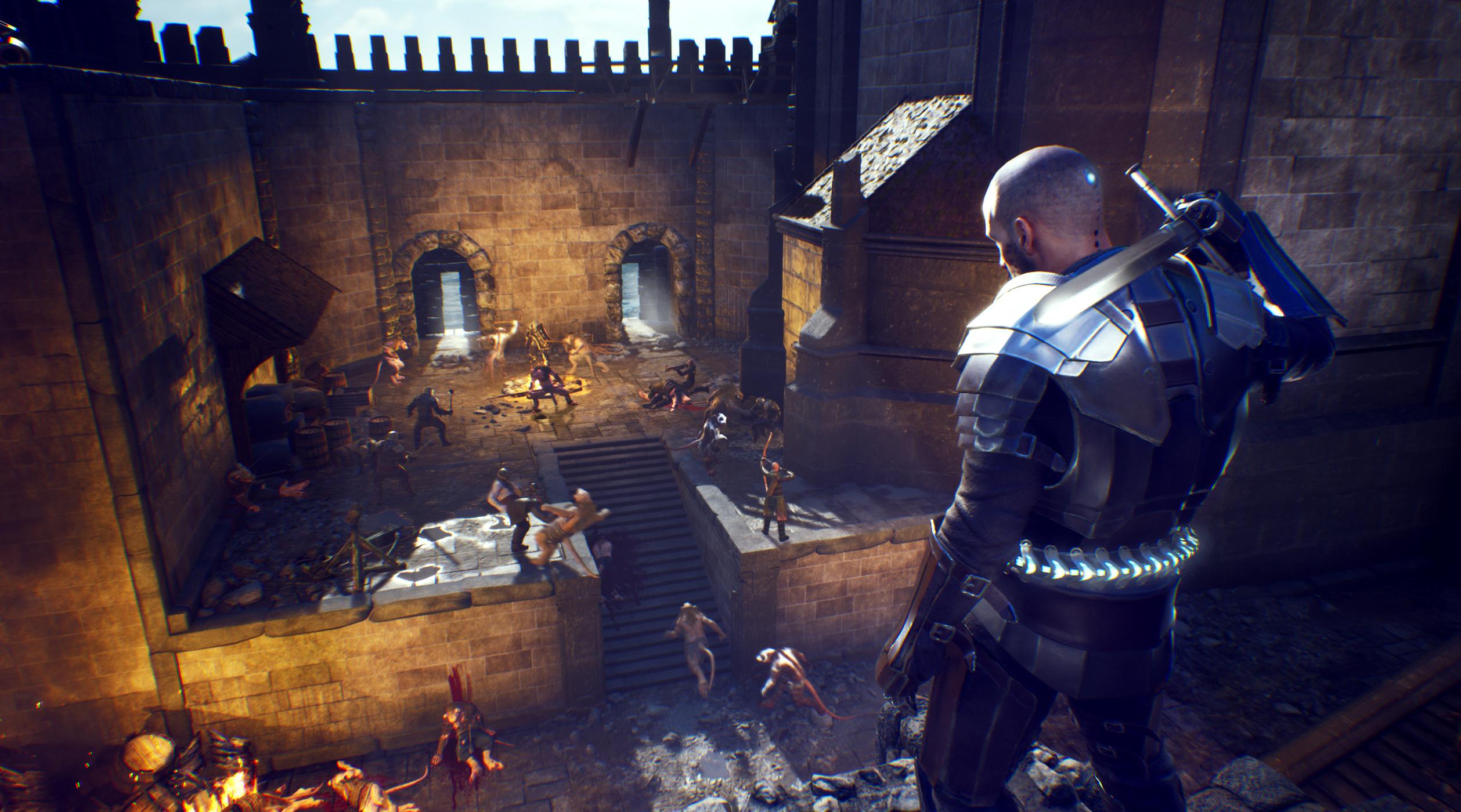 The Last Oricru Screenshot Castle Linna