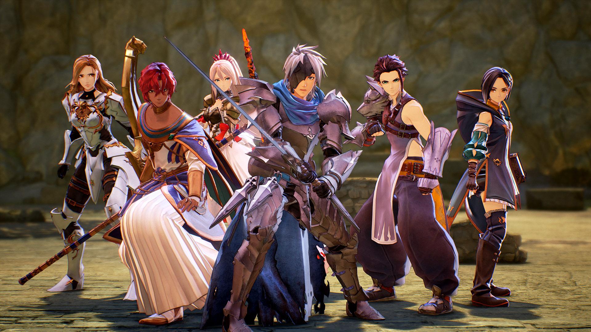 Tales of Arise koko kööri koossa all characters