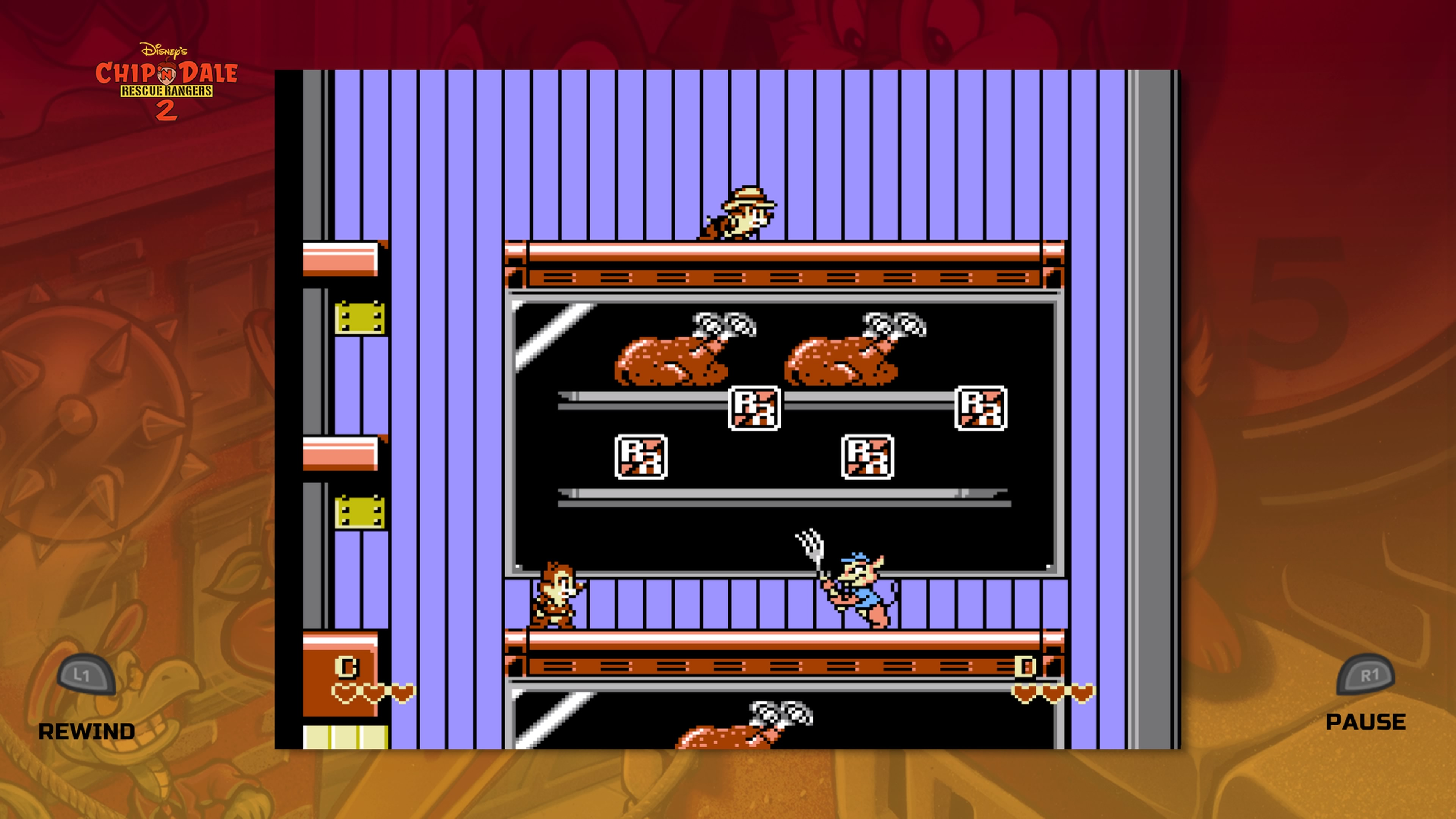 The Disney Afternoon Collection Chip 'n Dale Rescue Rangers 2 Tiku ja Taku