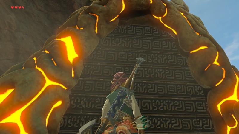 The Legend of Zelda Breath of the Wild Shrinen ovi