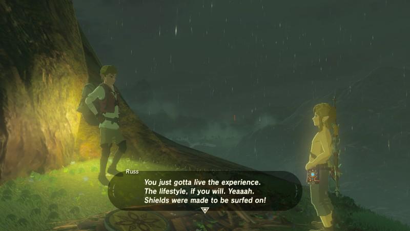The Legend of Zelda Breath of the Wild Surffijengi