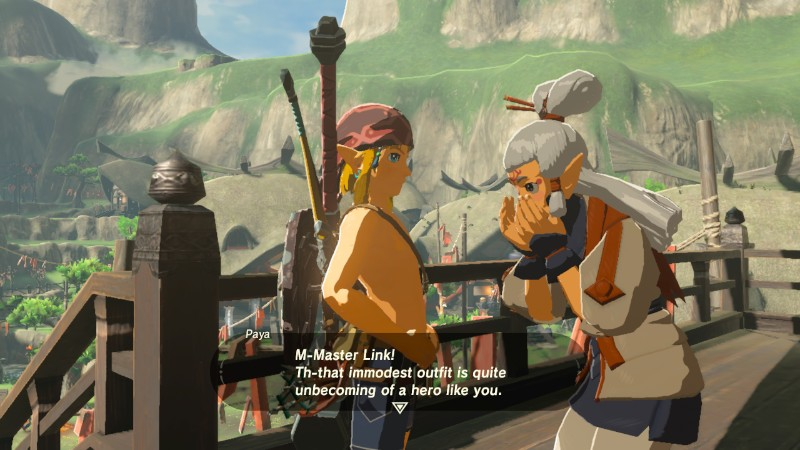 The Legend of Zelda Breath of the Wild paljasta pintaa