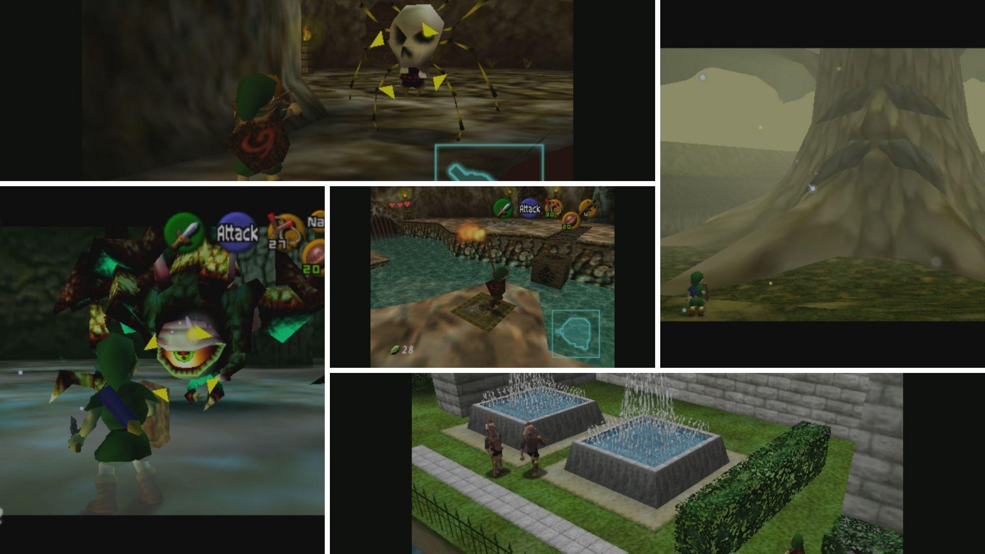 The Legend of Zelda Ocarina of Time kokoomakuva
