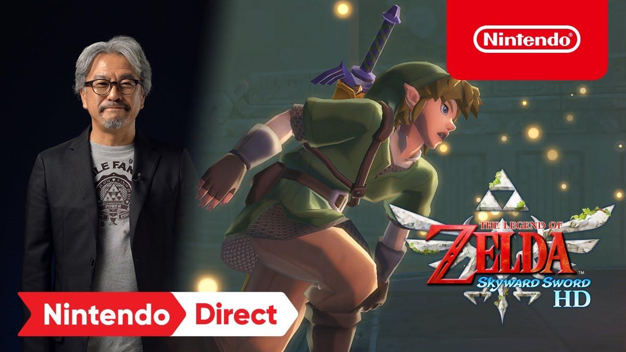 The Legend of Zelda Skyward Sword HD Nintendo Direct