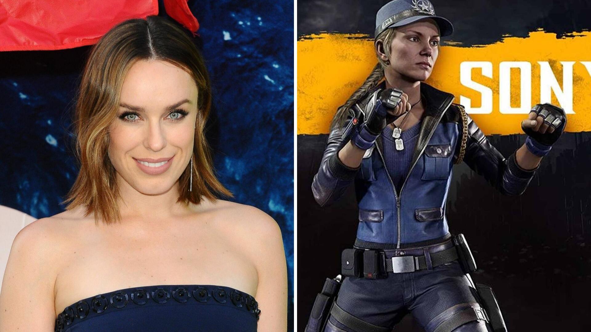 Jessica McNamee Sonya Blade Mortal Kombat -elokuva