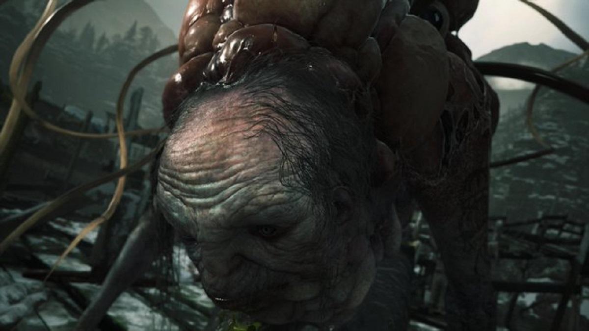 Resident Evil 8 Village mörkö metsässä