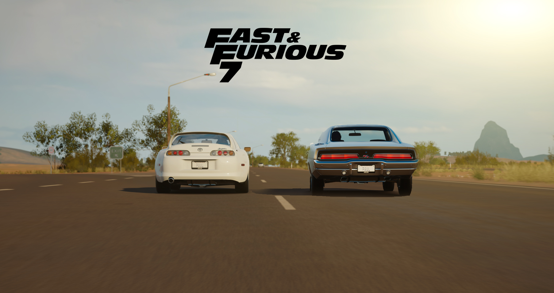 Forza Horizon 3 Fast & Furious 7