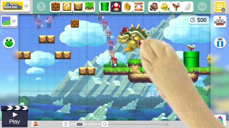 Super Mario Maker Bowser