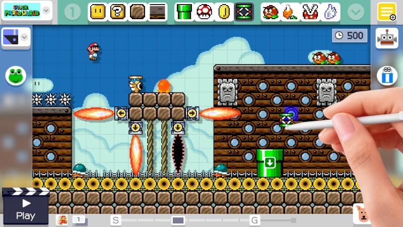 Super Mario Maker Airship