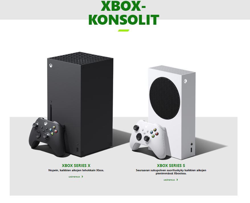 Xbox-konsolit