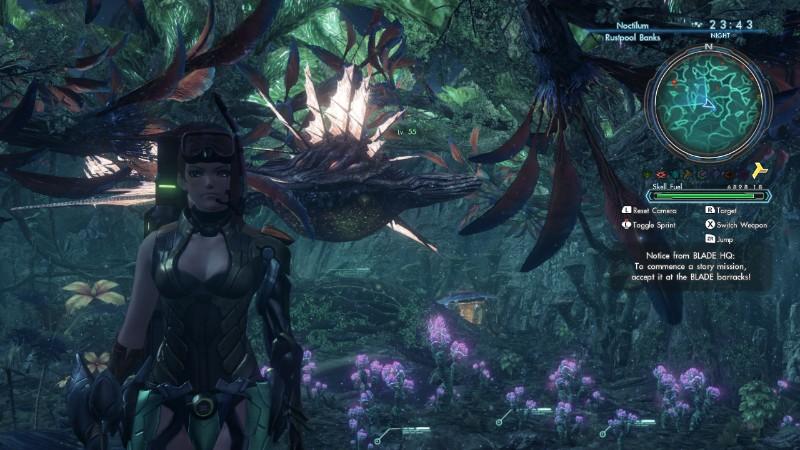 Xenoblade Chronicles X Oma hahmo metässä