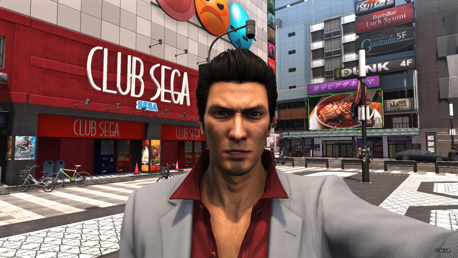 YAKUZA 6 The Song of Life Theater Square ja Club Sega