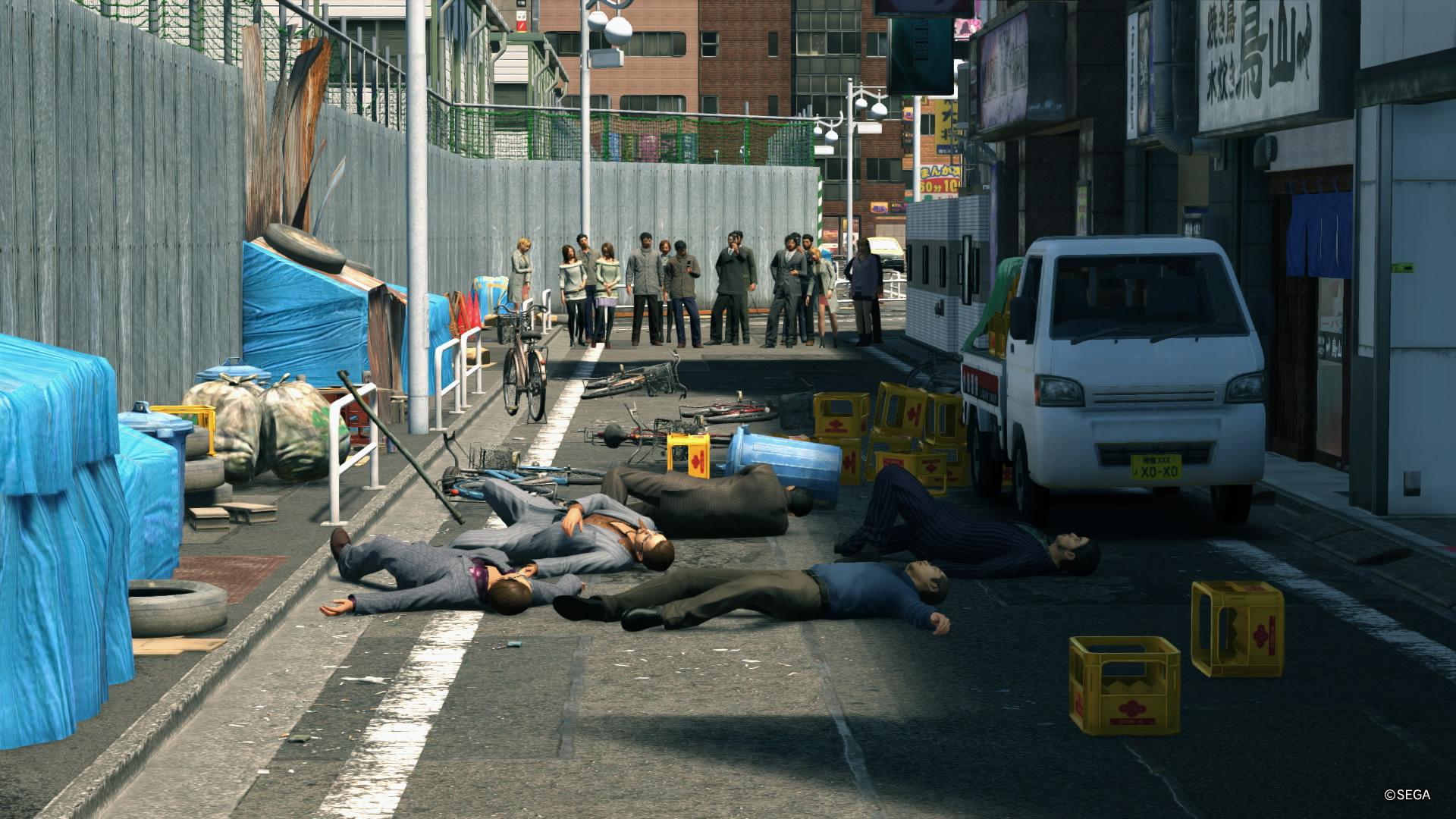 YAKUZA KIWAMI 2 Park Blvd ja tappelun lopputulos