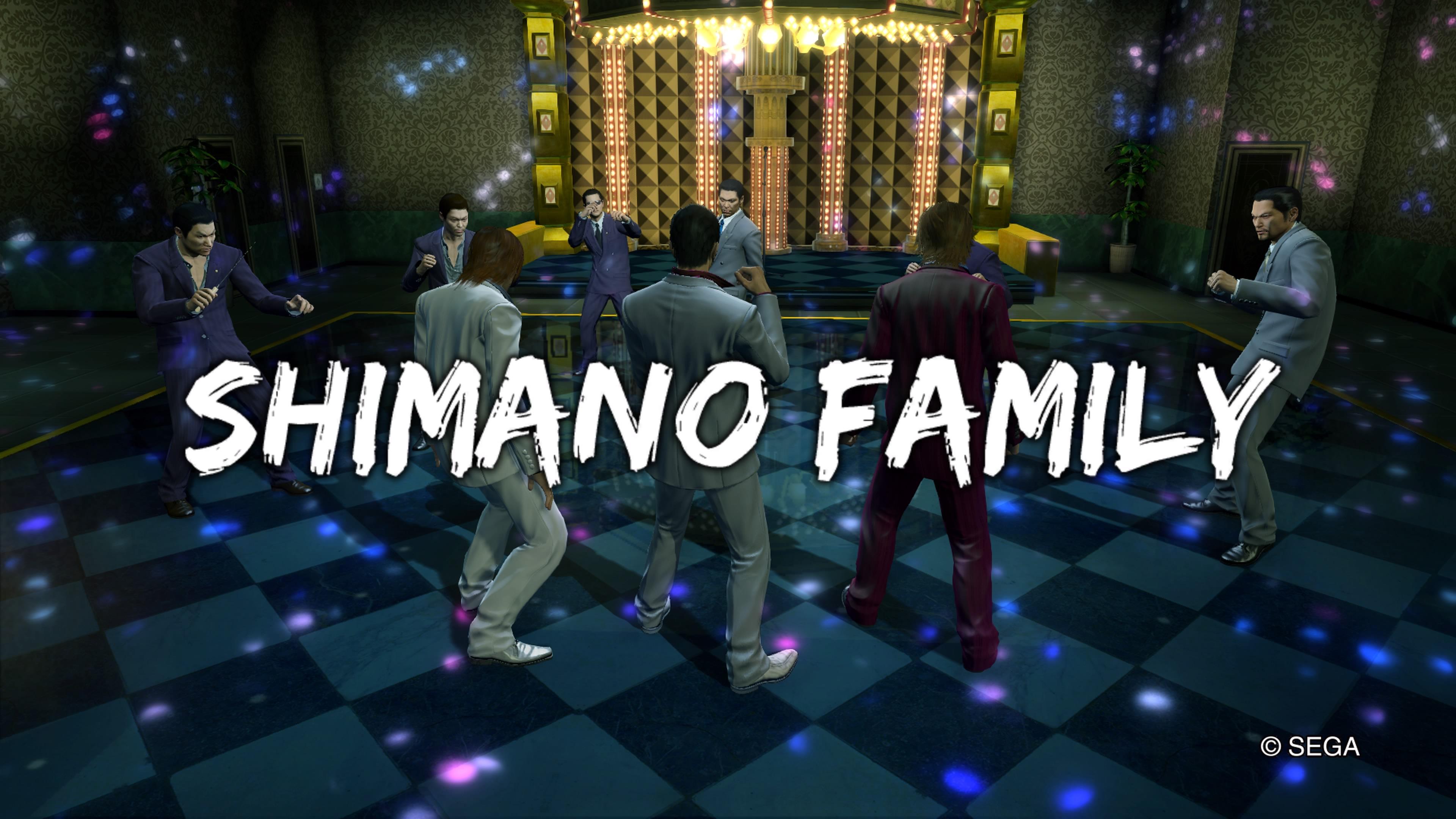 YAKUZA KIWAMI Shimano family