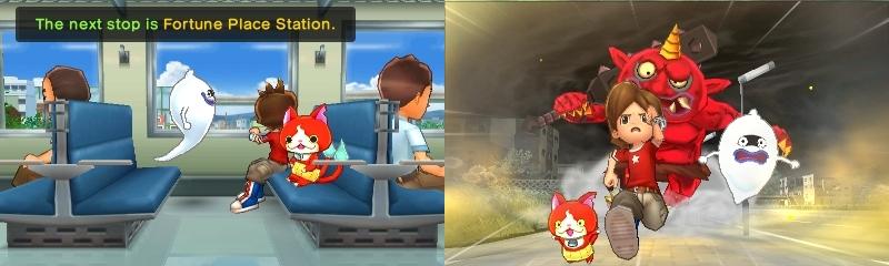 Yo-kai Watch 2 Psychic Specters junamatka pakomatka