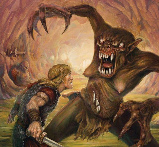 Beowulf tarinoissa