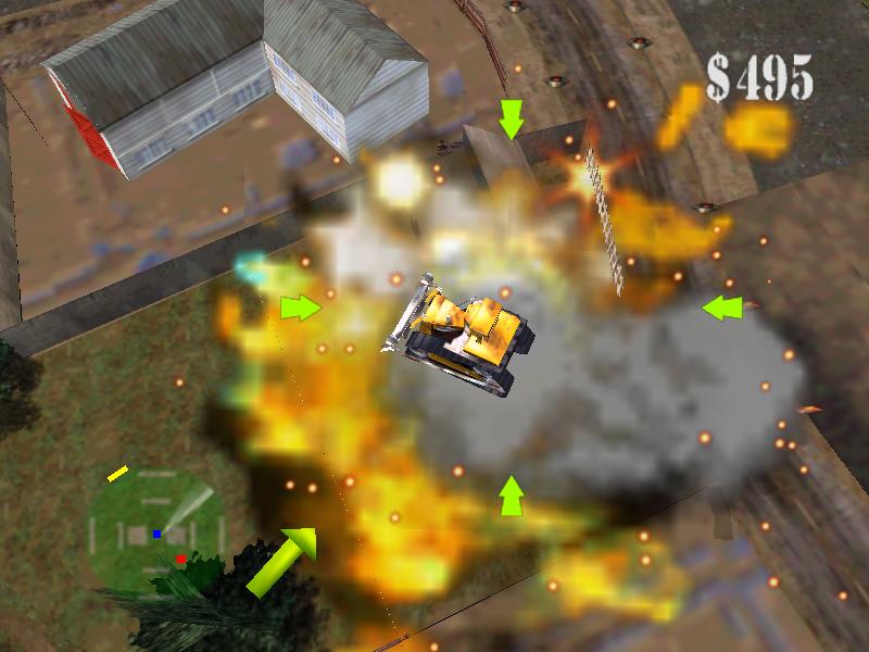 Blast Corps Rare Nintendo 64 iso pum